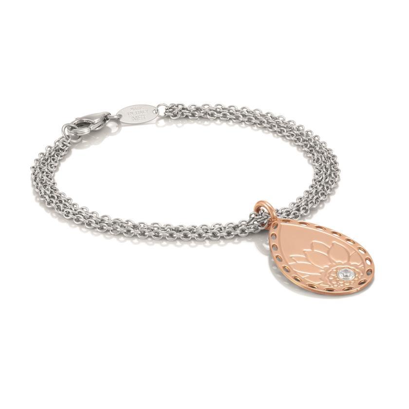 echt nomination demetra armband roses gold 025810 011 ebay. Black Bedroom Furniture Sets. Home Design Ideas