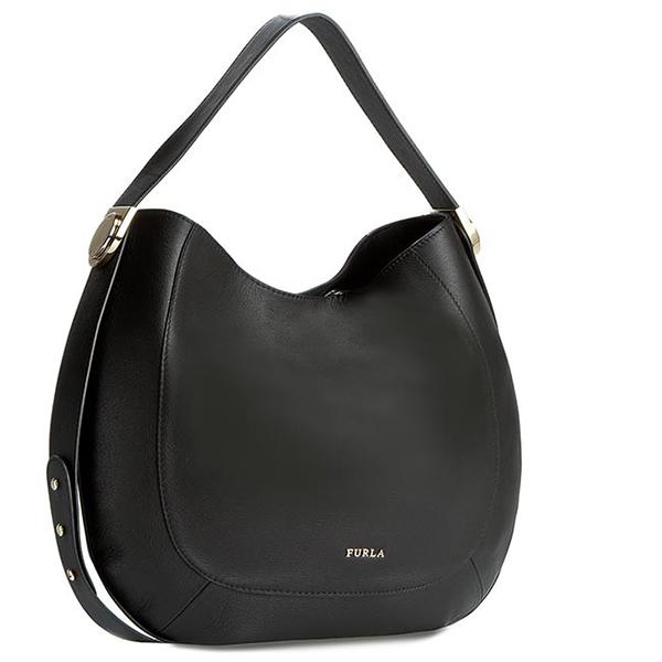 Original furla tasche luna damen schwarz 793742 ebay - Furla tasche schwarz ...