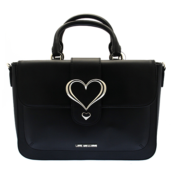 original love moschino tasche damen schwarz jc4047pp13ld0000 ebay. Black Bedroom Furniture Sets. Home Design Ideas