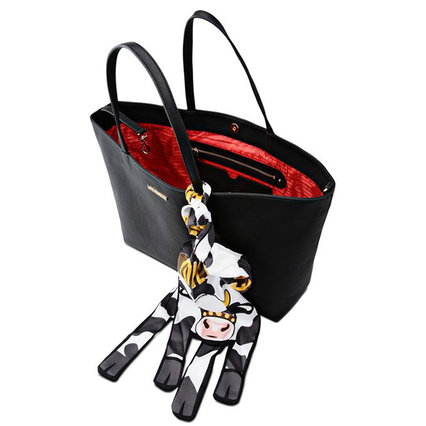 original love moschino tasche damen schwarz jc4075pp12lj0000 ebay. Black Bedroom Furniture Sets. Home Design Ideas