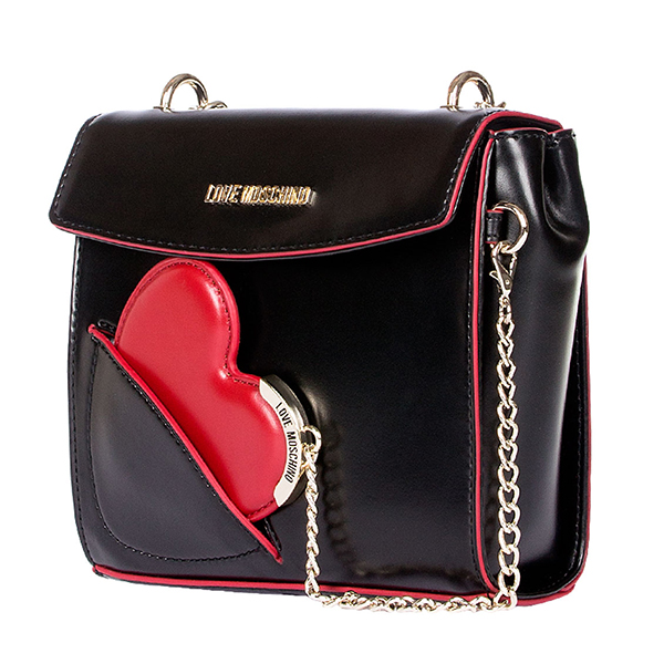 echt love moschino tasche damen schwarz jc4238pp02ke0000 ebay. Black Bedroom Furniture Sets. Home Design Ideas
