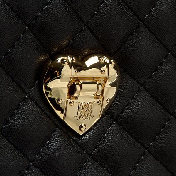 echt love moschino tasche damen schwarz jc4326pp02ka0000 ebay. Black Bedroom Furniture Sets. Home Design Ideas