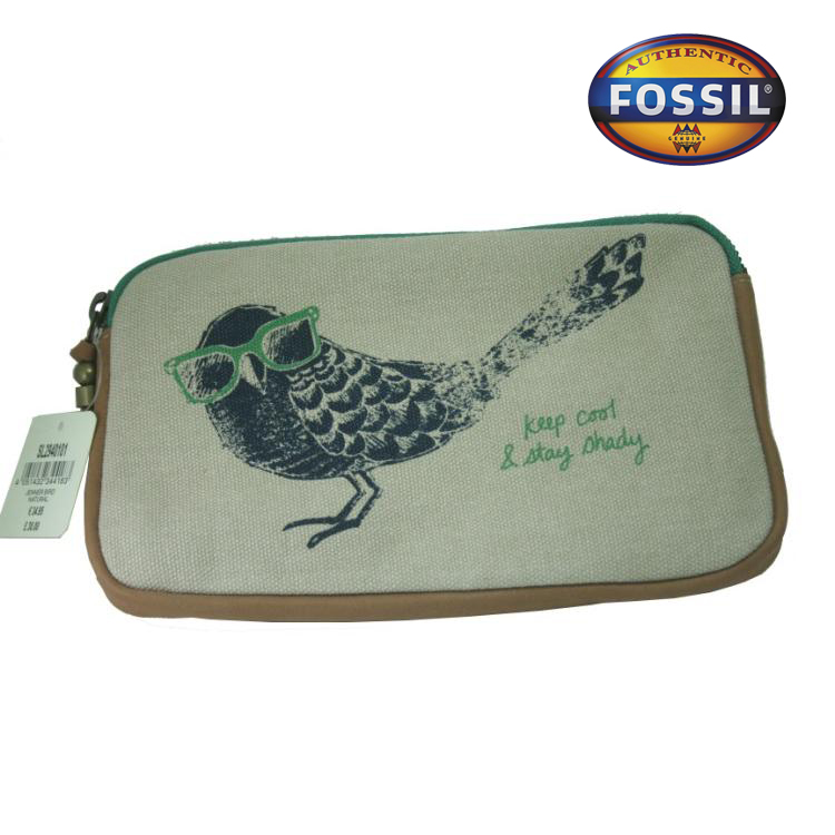 FOSSIL MADDOX BIRD TOP ZIP CROSSBODY HANDBAG