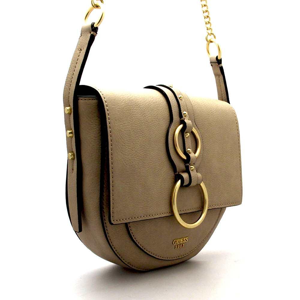 NEW GUESS Bag DIXIE Female Sand - HWVB4571210SAN 7613388818438  ca36eee8610fc