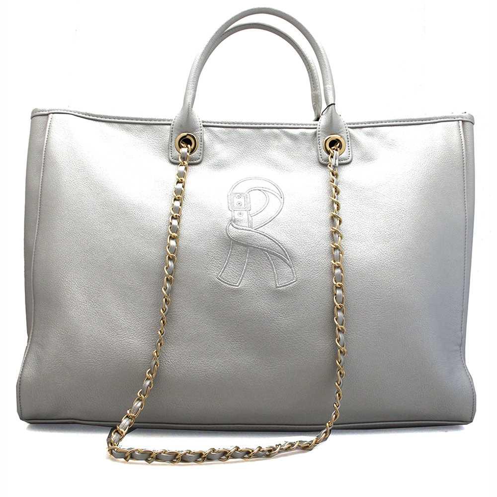 9b6493f369f Details about Roberta di Camerino Bag Viola summer Female Silver - RC0352- 402